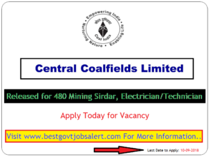 CCL - Central Coalfields limited