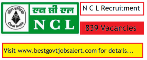NCL (Northern Coalfields Limited) 2018