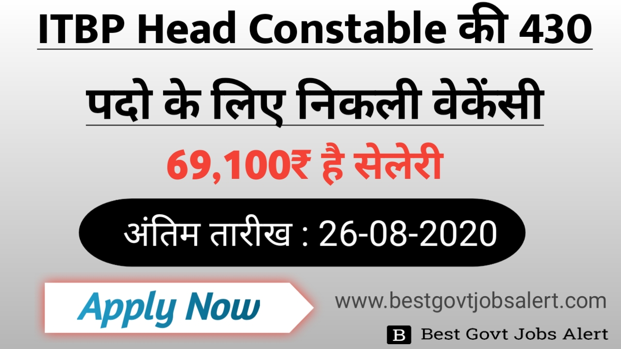 ITBP Constable Post
